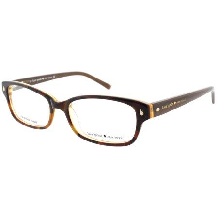 ae95399ca9 Kate Spade Lucyann JMD Tortoise Gold 51mm Women s Eyeglasses - Walmart.com