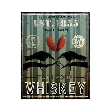 Old Salt Whiskey Love Birds Print Wall Art By Ryan Fowler