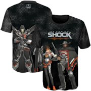 San Francisco Shock Youth Fight as One Sublimated T-Shirt - Black