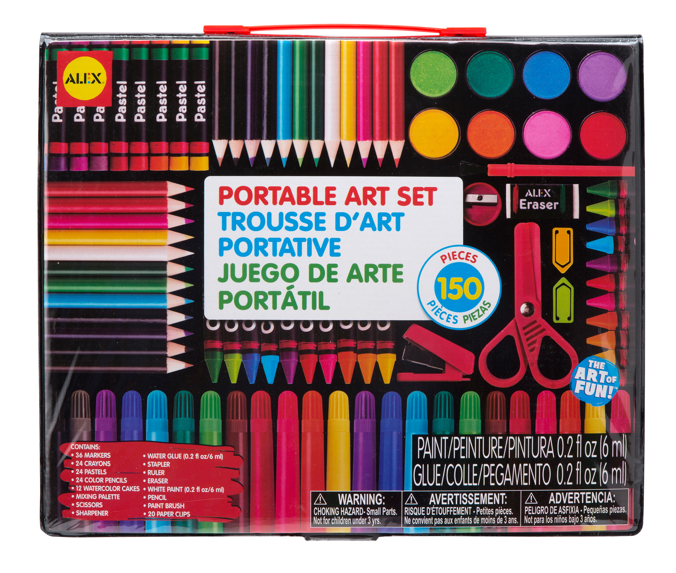 ALEX Toys Artist Studio Portable Art Set by Alex Brands