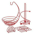 Ragalta 4 Piece Useful Kitchen Set - Red (rcks-101r)