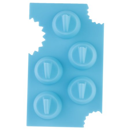 Silicone Blue Shark Fin Ice Tray Cube Freeze Maker Chocolate Mould Mold - image 10 of 10