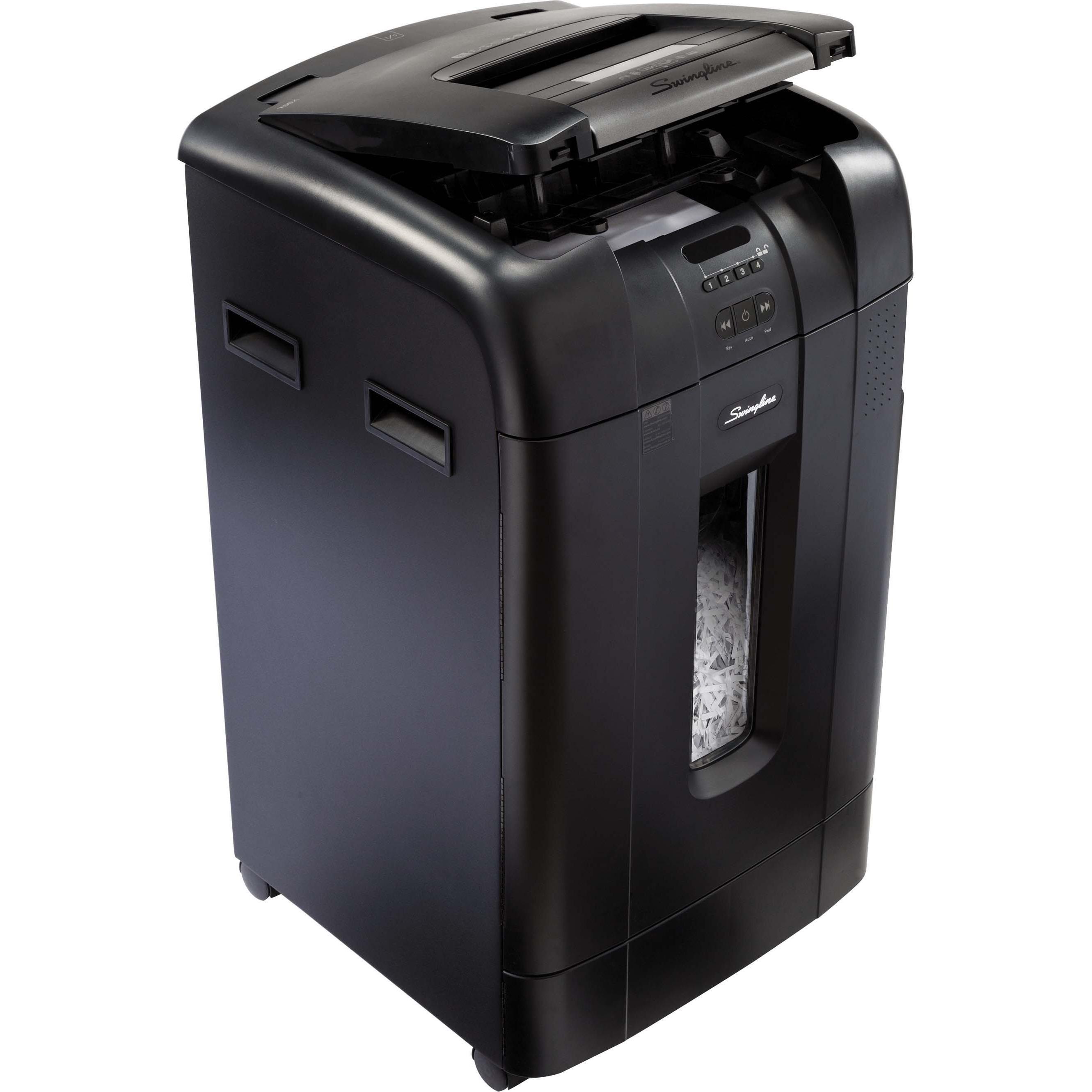 Swingline, SWI1757578, Stack-and-Shred™ 750X Auto Feed Shredder, 1 Each, Black