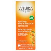Weleda Hydrating Body & Beauty Oil, Sea Buckthorn Extracts, 3.4 fl oz (100 ml)