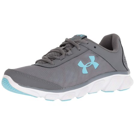 Under Armour Womens Micro G Assert 7 Low Top, Graphite (103)/Steel, Size (Under Armour 4d Foam Micro G Womens)