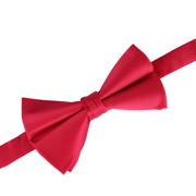 HDE Mens Premium Big and Tall Pre-Tied Bow Tie XL Adjustable Satin Bowtie for Tuxedo Weddings Formal (Red)