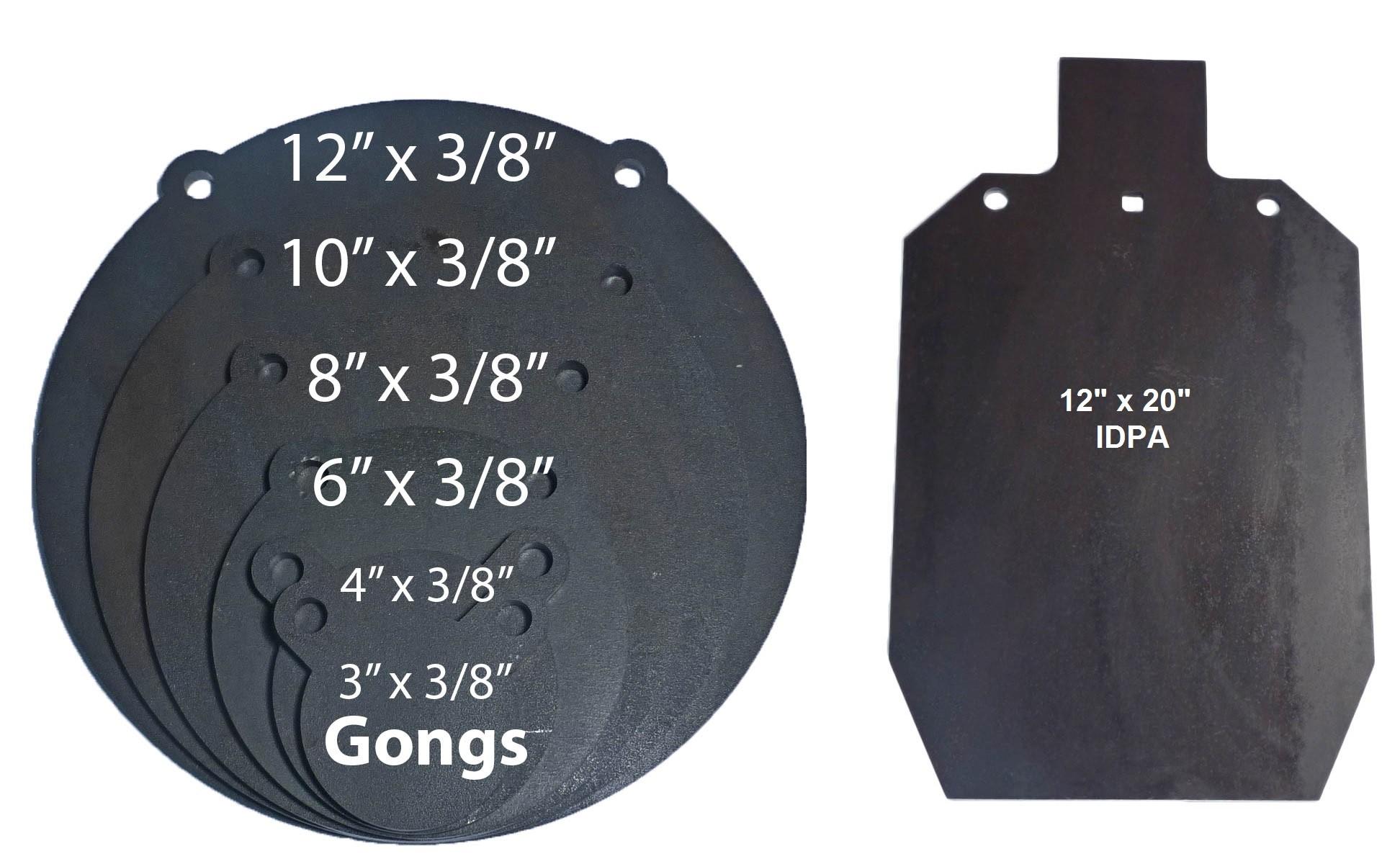 """AR500 steel target 13 PCS SET 1//2/"""" X 2/"""" X 3/"""" X 4/"""" X 6/"""" X 8/""""  gift!!"""