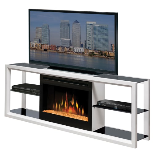Dimplex SHGFP-300 Novara 64 Inch Wide Media Console with 3000 BTU Electric Firep