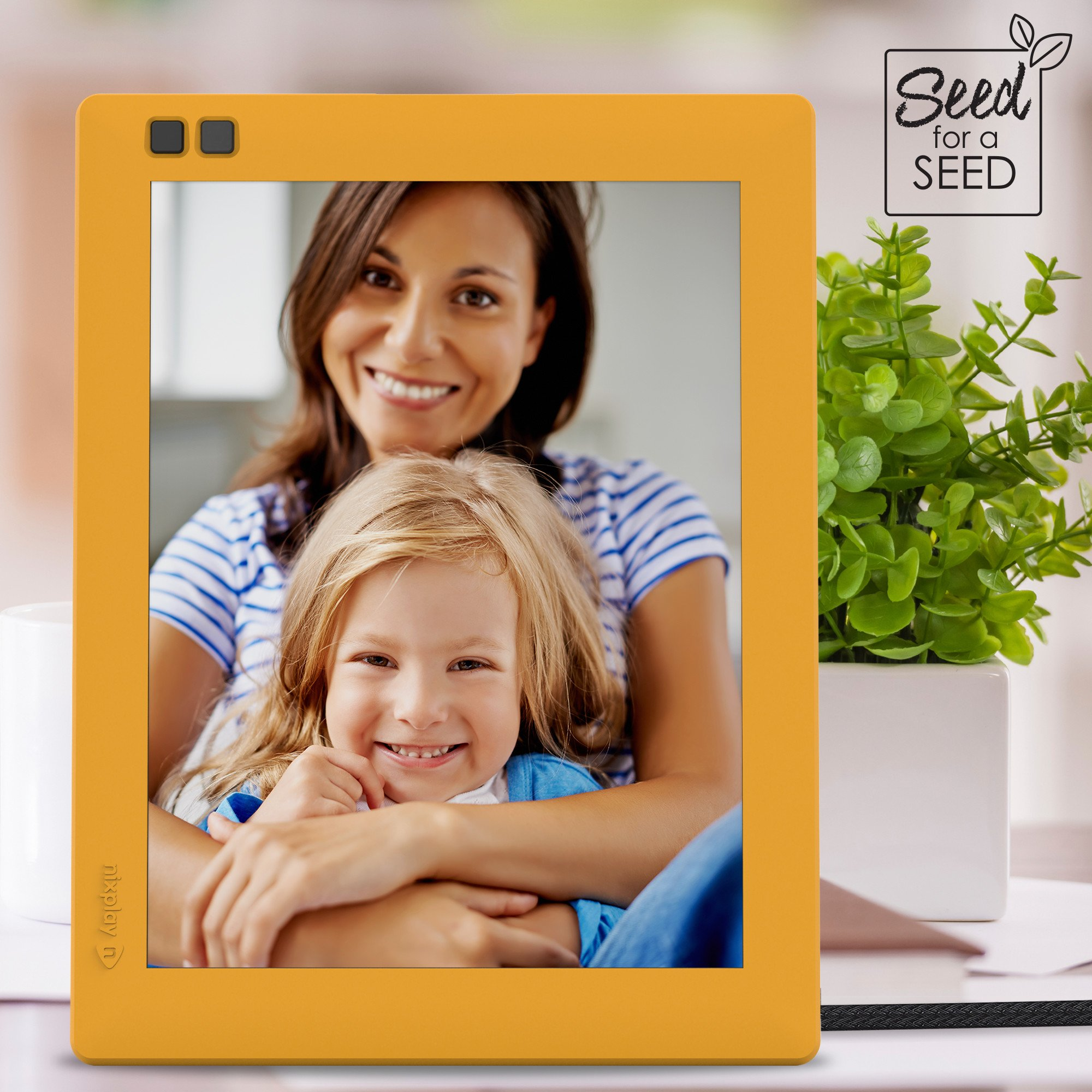 Nixplay Seed 8 Inch Wifi Cloud Digital Photo Frame With Ips Display