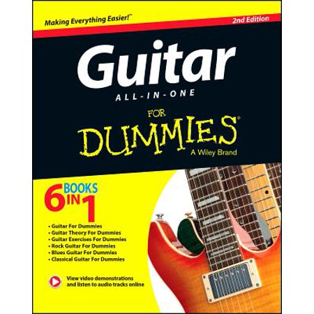 (Guitar All-In-One for Dummies, Book + Online Video & Audio Instruction)