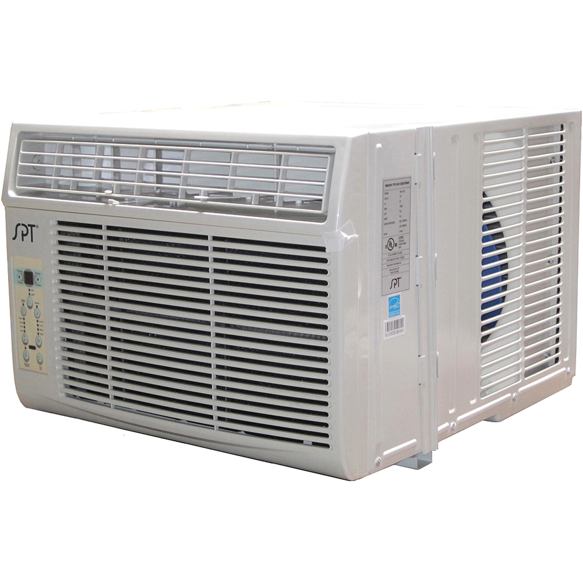 Sunpentown Energy Star 12000 BTU Window Air Conditioner with Remote Control, White