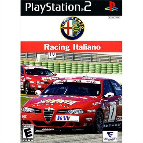 Alfa Romeo Racing Italiano PS2 - Playstation 2