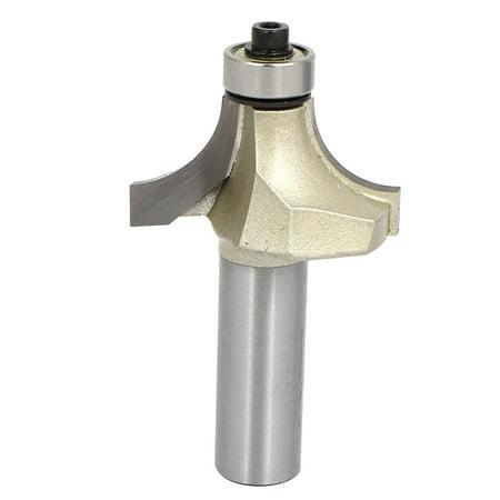 1/2-inch Shank 1-inch Cutting Dia 2 Flutes Corner Round Roundover Router Bit 1/2' Shank Roundover Router Bit