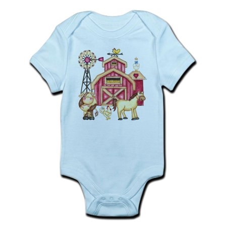 CafePress - Farm Animals Infant Bodysuit - Baby Light Bodysuit