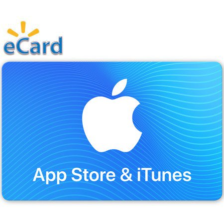Apple Card ($15 App Store & iTunes Gift Card (Email)