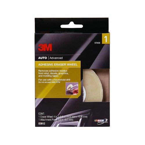 """3M 03612 Adhesive Eraser Wheel (4"""" x 5/8"""")"""
