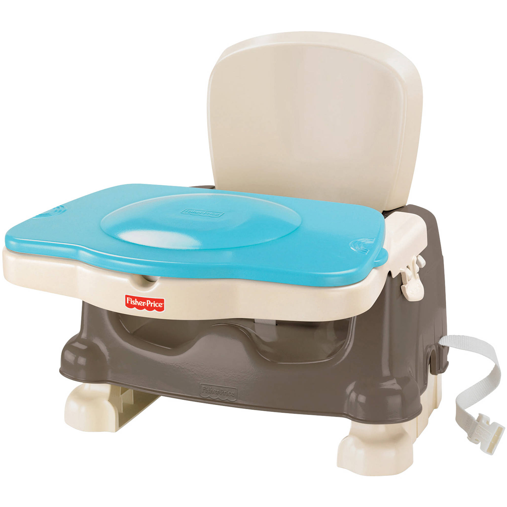 Fisher-Price Healthy Care Deluxe Booster Seat, Brown