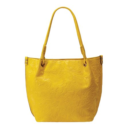 Jessica London Women's Plus Size Embossed Tote