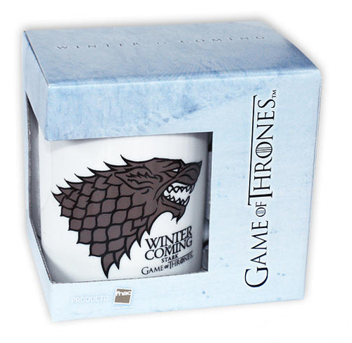 Game Of Thrones - Ceramic Coffee / Mug / Cup (House Stark: Winter Is Coming)