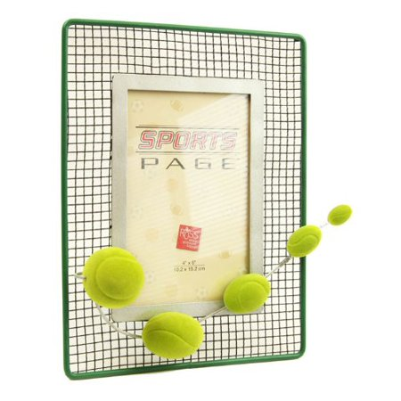 Sports Page Novelty Tennis Picture Frame - Walmart.com