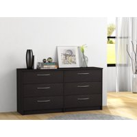 Product Image Homestar Finch Collection 6 Drawer Dresser Multiple Finishes