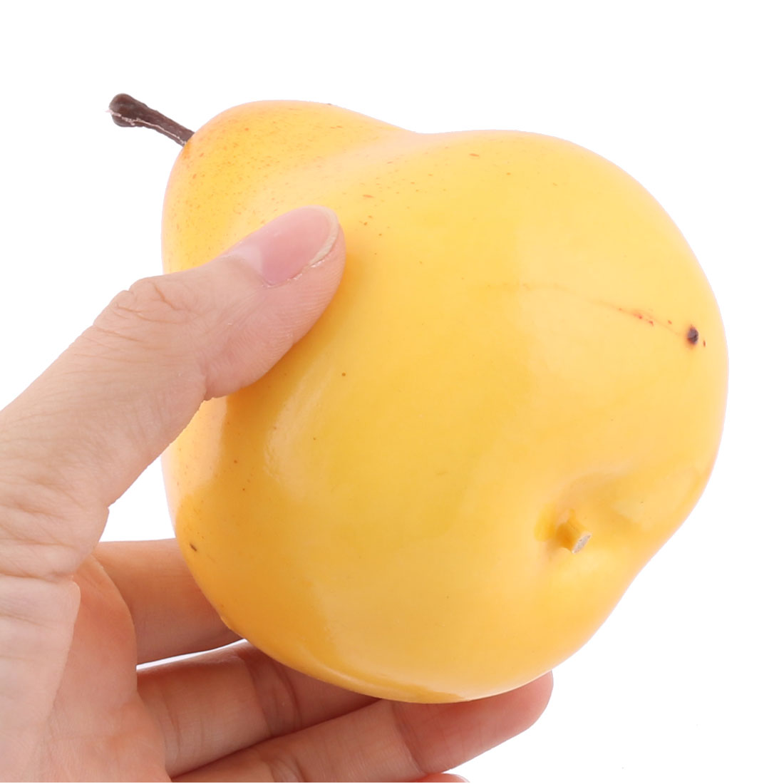 Household Table Decor Foam Handmade Simulation Artificial Fruit Pear Yellow 3pcs - image 1 of 3