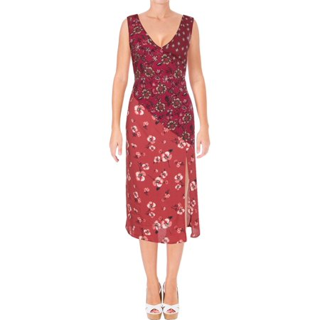 Band of Gypsies Womens Printed Knee-Length Midi Dress](Dress Like Gypsy Halloween)