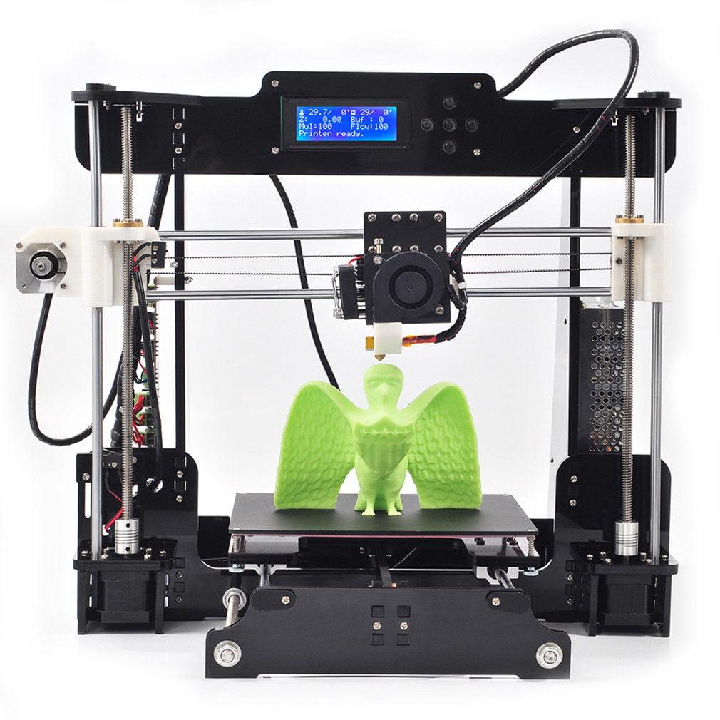 Anet A8 3D Printer Desktop Acrylic LCD Screen Printer DIY High Accuracy Self Assembly THINK