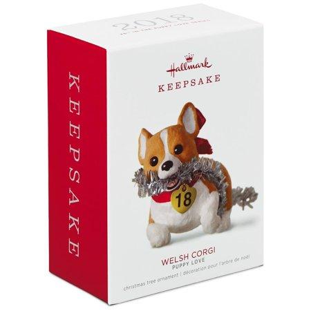 Hallmark Keepsake 2018 Puppy Love Welsh Corgi Ornament