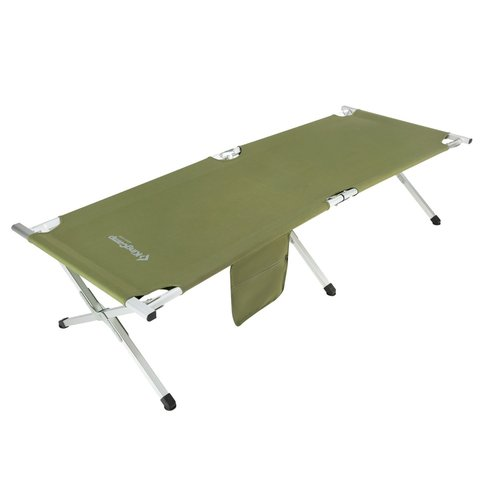 Kingcamp Lightweight Portable Strong Stable Folding Deluxe Camping Cot by KingCamp