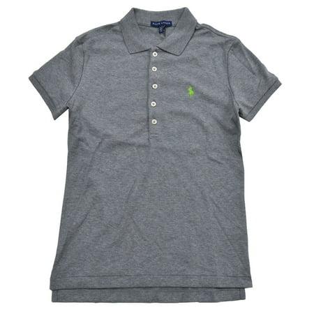 790725b398eb Polo Ralph Lauren Womens Classic Fit Interlock Polo Shirt (L