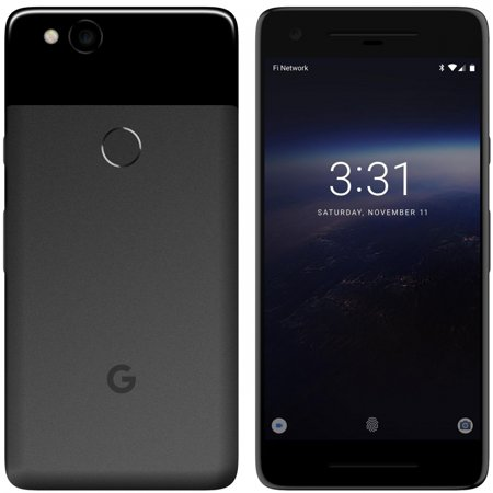 Google Pixel 2 XL 128gb Just Black Verizon Fully Unlocked (Certified  Refurbished, Good Condition)