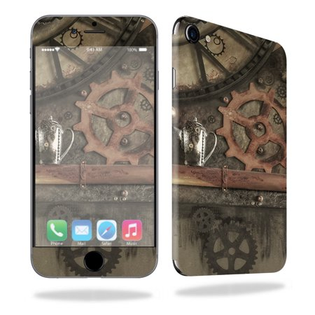 Skin Decal Wrap For Apple Iphone 7 Case Steam Punk Room