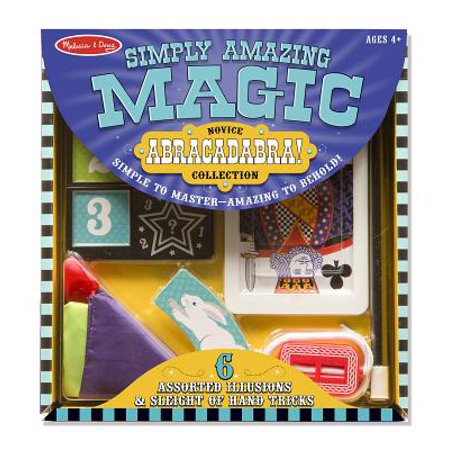 Melissa & Doug Magic in a Snap! Abracadabra Collection Magic Tricks Set (10 pcs)