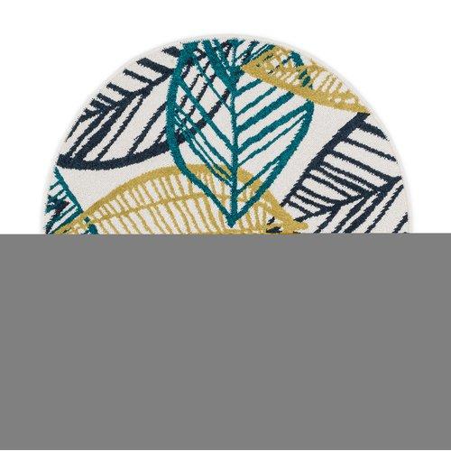 Ebern Designs Laudenslager Green/Yellow Area Rug