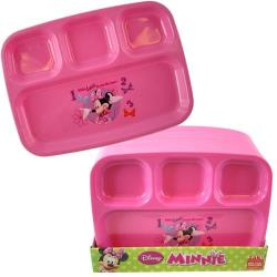 MINNIE MOUSE 4 SECTION PLATE