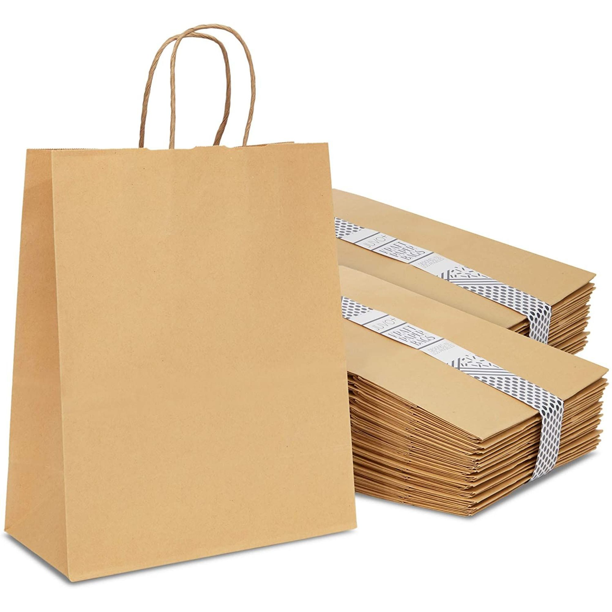 treat bags Snack Sacks 25 popcorn * kraft treat bags kids party mini kraft bags