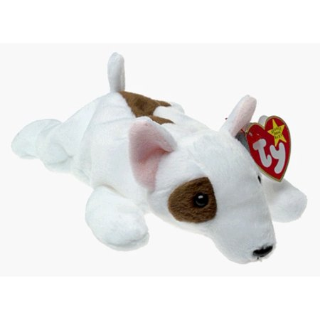 Toy Bull Terrier - ty beanie babies - butch the bull terrier