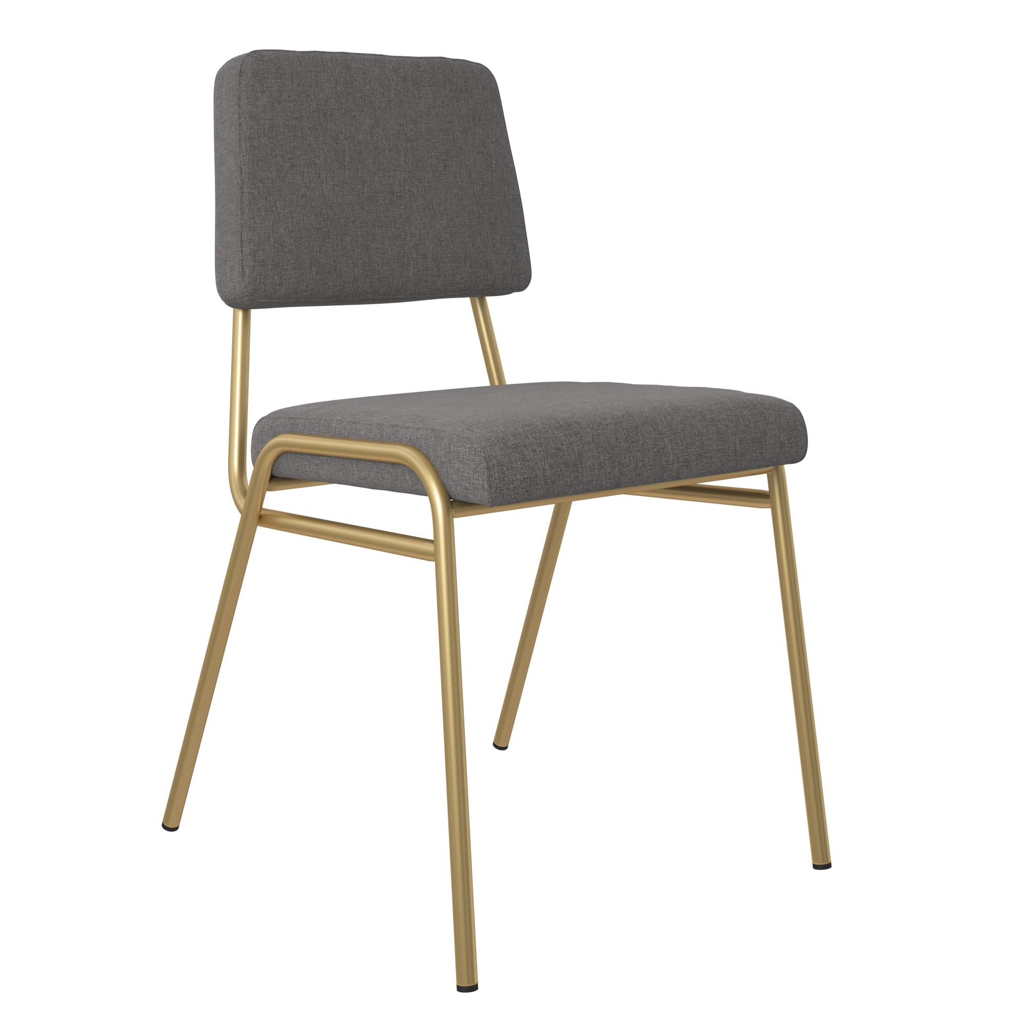 Novogratz Lex Upholstered Dining Chair Multiple Colors