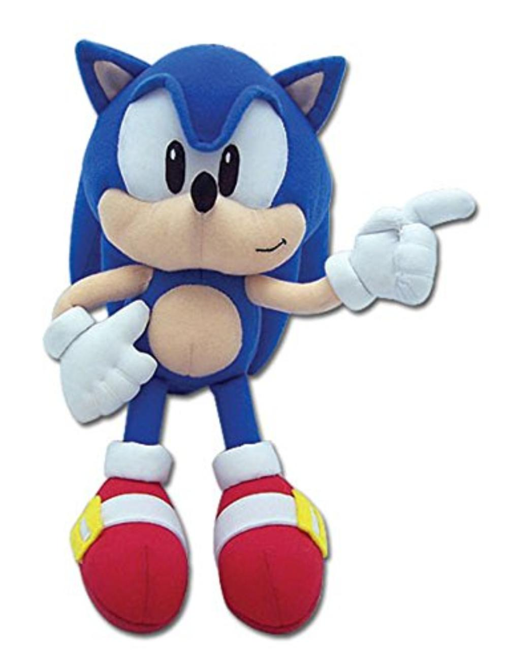 Sonic The Hedgehog Classic Sonic 9 Plush Collect All Your Favorite Sonic The Hedgehog Characters With These Awesome Plushies By Great Eastern Walmart Com Walmart Com