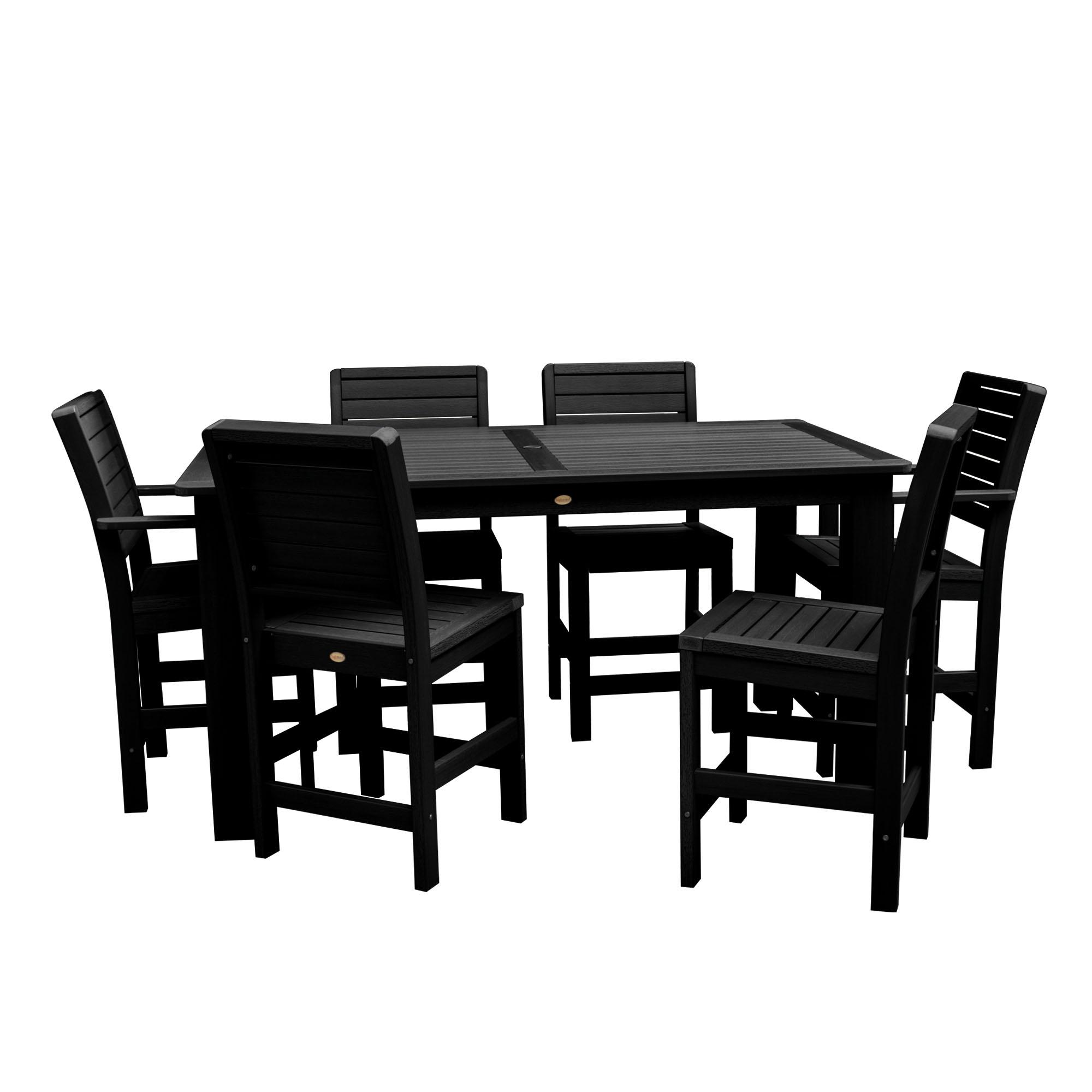 "highwood® Weatherly 7pc Rectangular Counter Height Dining Set 72""x42"""