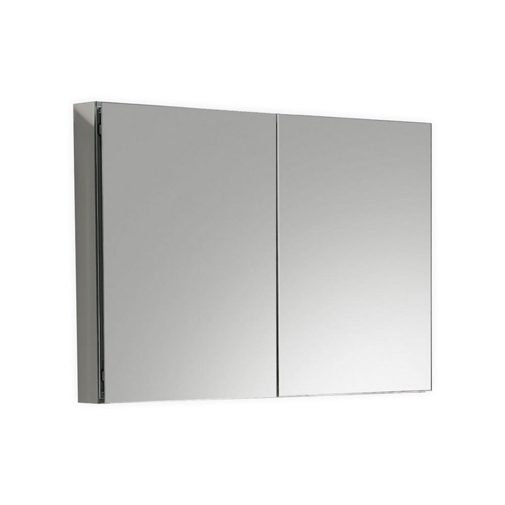 "Kube 40"" Mirrored Medicine Cabinet by"