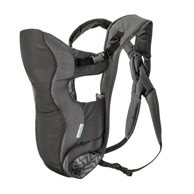Evenflo Breathable Soft Carrier; Gray Chevron (Infant Carriers & Accessories) by Evenflo