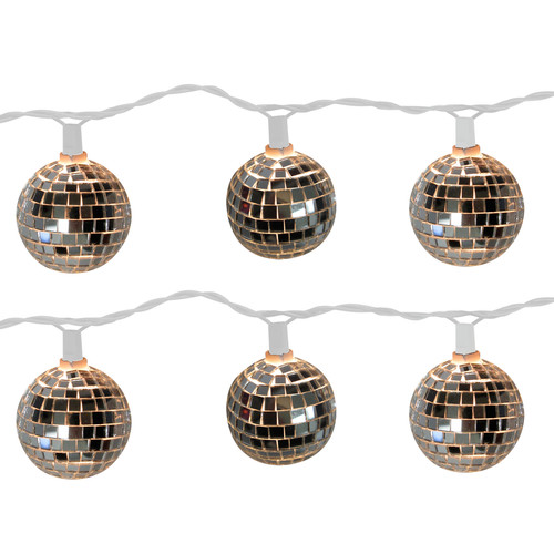 Brite Star 10-Light Disco Ball String Lights (Set of 2) by Brite Star