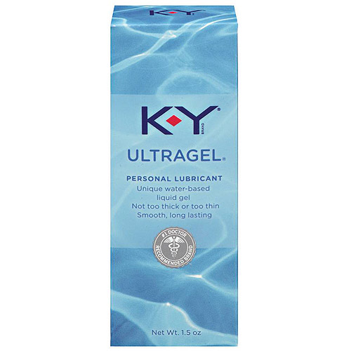 K-Y Ultragel Personal Water Based Lubricant Gel - 1.5 oz