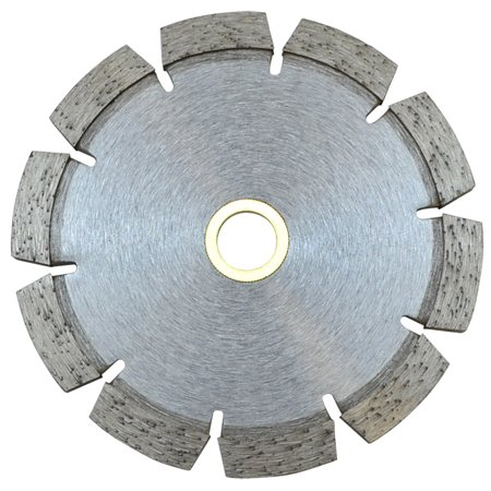 - 5'' x250'' x 7/8'' - 5/8'' Tuck Point blade Cutting Cutter 10mm Rim Concrete and Mortar Joint Removal
