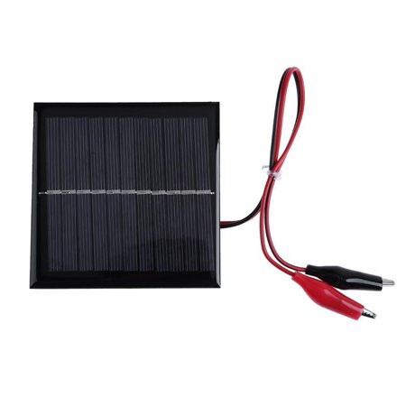 Portable Solar Panel 6V 1W Battery Cell Charger Module Charging