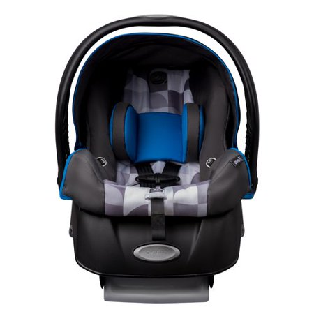 evenflo embrace select infant car seat with sure safe installation choose your pattern best. Black Bedroom Furniture Sets. Home Design Ideas