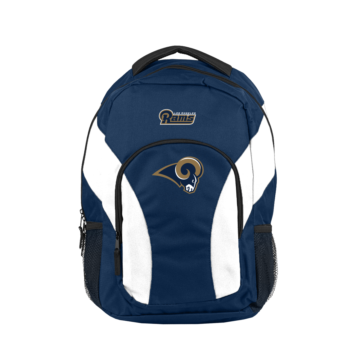 """NFL Los Angeles Rams """"Draft Day"""" 18""""H x 10"""" (12"""" Back) Backpack"""