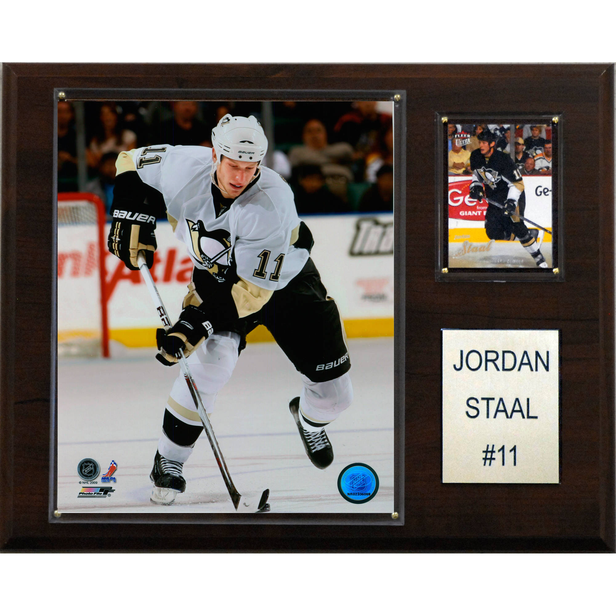 C&I Collectables NHL 12x15 Jordan Staal Pittsburgh Penguins Player Plaque